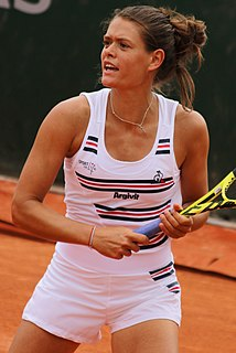 Chloé Paquet French tennis player