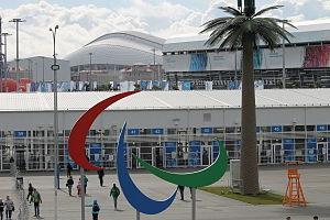 Зимние Паралимпийские игры Википедия Олимпийский парк во время Паралимпийских игр в Сочи