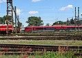 Pardubice hlavní nádraží, od ulice K Vápence, Railjet (01).jpg