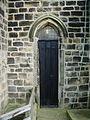 Parish Church of St Wilfrid, Pool-in-Wharfedale, Doorway - geograph.org.uk - 722471.jpg