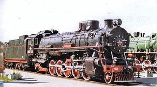 Russian locomotive class FD class of Soviet 2-10-2 locomotives