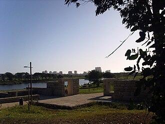 Póvoa de Varzim City Park - Image: Parque cidade póvoa lago