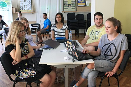 Participants of Edu Wiki camp 2018 in Serbia 8.8.2018 085.jpg