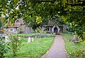 Path to St Michael and All Angels Church, Berwick - geograph.org.uk - 1031026.jpg
