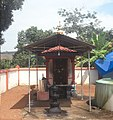 Pattupurackal bhagavathy temple- shrine of subordinate deities.jpg