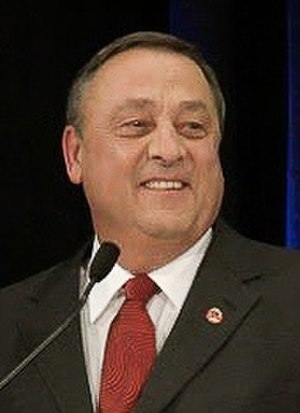 Maine gubernatorial election, 2010 - Image: Paul Le Page (cropped)