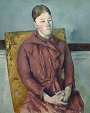 Paul Cézanne - Madame Cézanne in a Yellow Chair - 1948.54 - Art Institute of Chicago.jpg