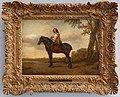 Paulus potter, cavaliere con un cavallo bruno, 1650 ca.jpg