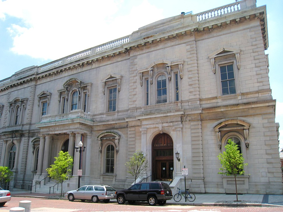 Peabody Institute, Mount Vernon Place, Baltimore, MD