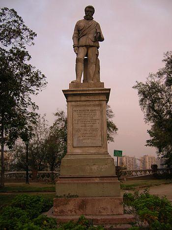 Pedro de Valdivia Santa Luc%C3%ADa