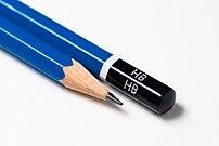 two pencils grade hb