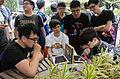People Playing Hearthstone in ATT 4 FUN Plaza 20160430a.jpg