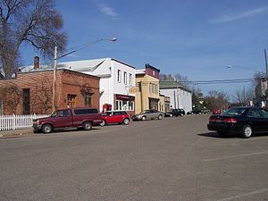 Pepin, Wisconsin - Part of Pepin's business district