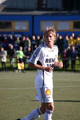 Per Ciljan Skjelbred - Skjelbred with Rosenborg in 2009.