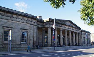 Sheriff Court (Perth, Scotland) Building in Perth, Scotland