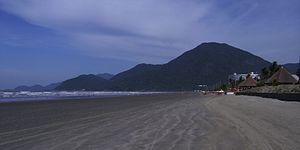 Peruíbe - Image: Peruibe beach