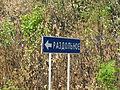 Pervoye Otdeleniye 2015 Road Sign.JPG