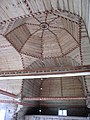 Petäjävesi Old Church interior ceiling dome.JPG
