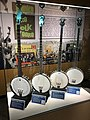 Pete Seeger banjos at the American Banjo Museum.jpg