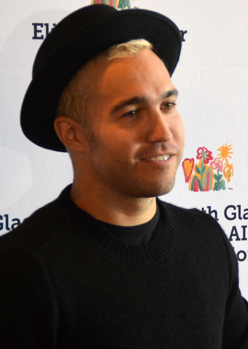 Pete Wentz Oct 2014 (cropped)