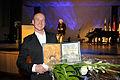 Peter Bruun vinnare av Nordiska radets musikpris 2008. Prisutdelningen i Helsingfors 2008-10-28.jpg