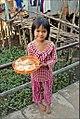 Petite fille de la communauté cham (Chau Doc, Vietnam) (6620664351).jpg