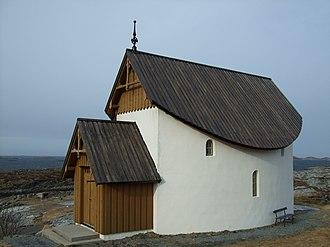 Petter Dass - Petter Dass Chapel in Husøya