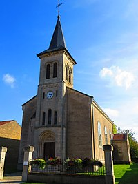 Pettoncourt l'église Saint-Clément.JPG