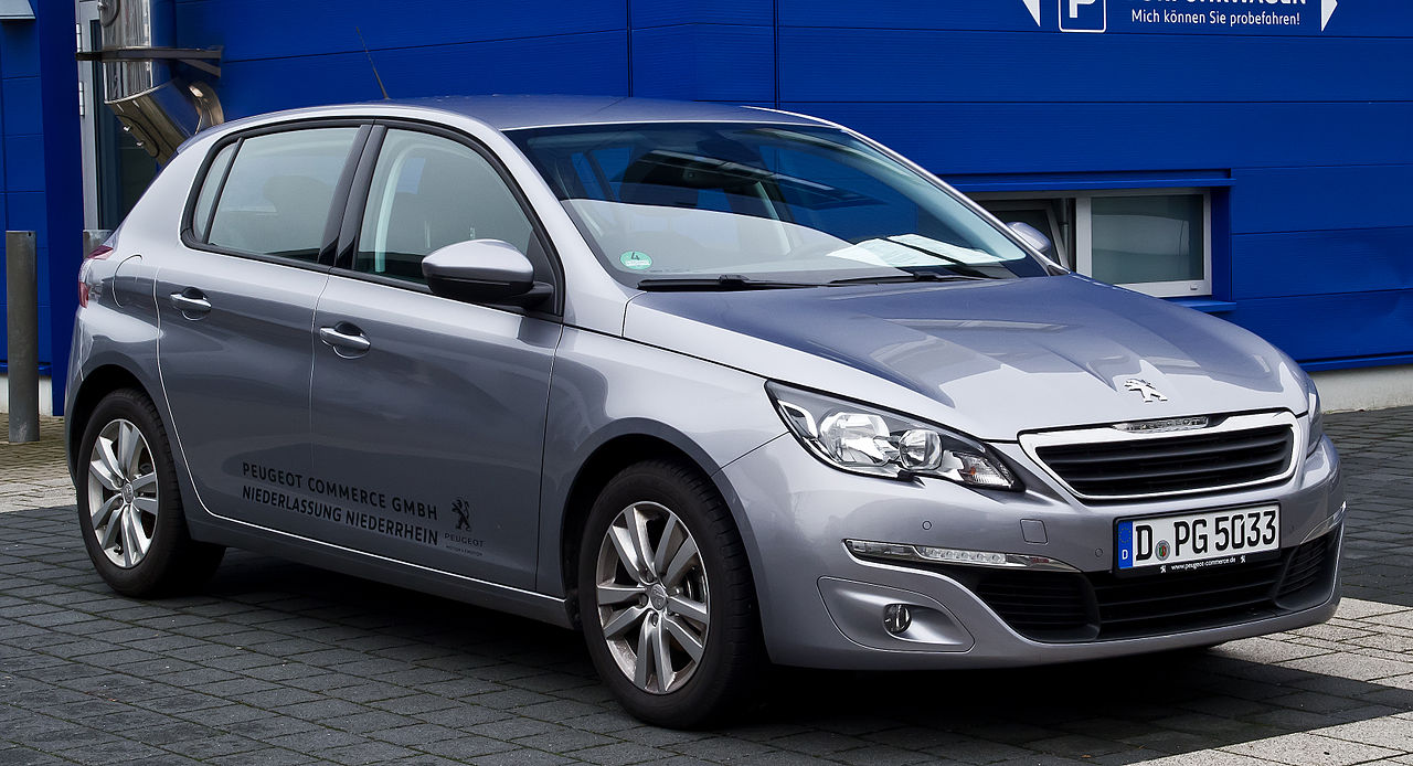 file peugeot 308 82 vti active ii frontansicht 4 januar 2014 d wikimedia. Black Bedroom Furniture Sets. Home Design Ideas