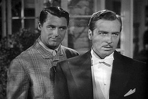 The Philadelphia Story (film) - Cary Grant as C.K. Dexter Haven and John Howard as George Kittredge