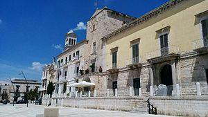 Ruvo di Puglia - The Remeins of the Ruvo's Castle in Matteotti Square