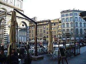 Piazza San Giovanni - Image: Piazza San Giovanni (Florence) 9
