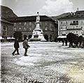 Piazza Walther, Vogelweide emlékmű. Fortepan 101112.jpg