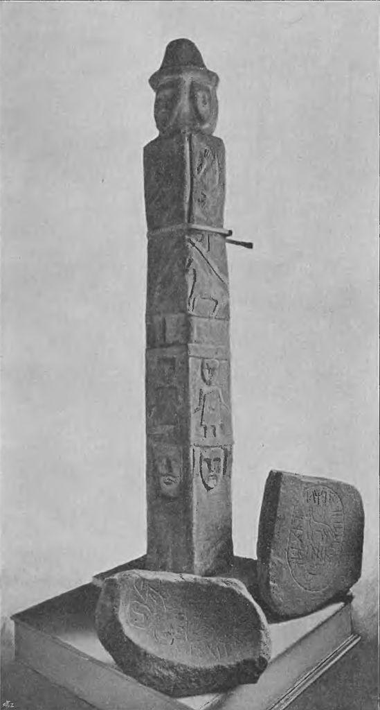 Statue de Swietowit, symbole paien.