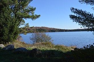 Piercefield, New York - Lakeside view in Piercefield
