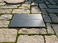 Pierre tombale de Jacqueline Bouvier Kennedy.jpg