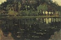Piet Mondriaan - Geinrust farm with truncated tall trees and saplings - A445 - Piet Mondrian, catalogue raisonné.jpg