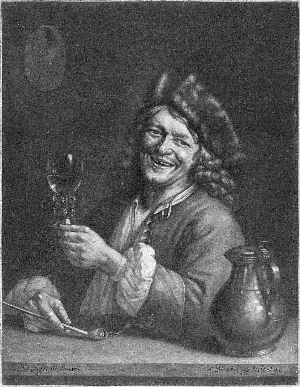 Pieter Gerritsz van Roestraten, by Abraham Bloteling