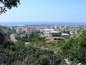 Tirat Carmel - Image: Piki Wiki Israel Tirat Carmel