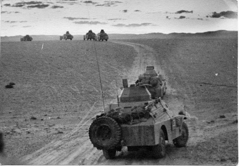 בלימת הטור המשוריין של גדוד 9
