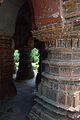 Pillars - Vishnu Mandir - Bansberia Royal Estate - Hooghly - 2013-05-19 7365.JPG