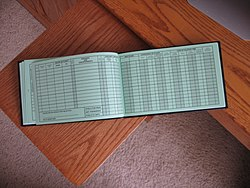 Logbook wikipedia typical page layout in aircraft pilots logbook maxwellsz