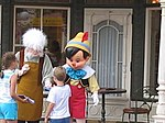 Pinocchio au Magic Kingdom.
