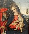 Pinturicchio, madonna col bambino e san girolamo, 02.JPG
