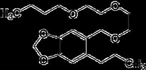 Piperonyl butoxide - Image: Piperonyl butoxide 2D by AHRLS 2012