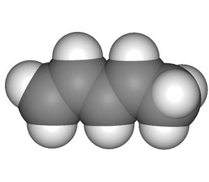 Piperylene - Image: Piperylene 3D