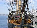 Pirate Ship in harbor.JPG