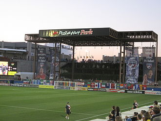 FC Dallas - Toyota Stadium, Dallas's home stadium since 2005