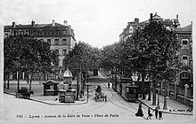 Place de Paris en 1920