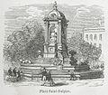 Place Saint-Sulpice, 1855.jpg